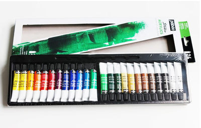 Pebeo Acrylic Paint 24 Set