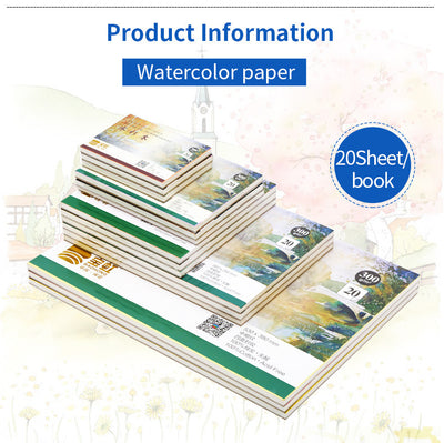 Professional Watercolor Paper Sheets