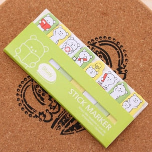 Cute Kawaii Sticky Memo Notes