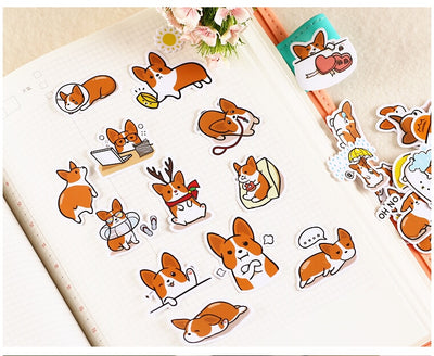 BLINGIRD Cute Coco Dog Stickers - Terra Art Shop