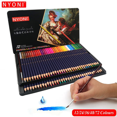 12/24/36/48/72/150 Premium Watercolor Pencil Set - Terra Art Shop