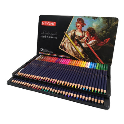 12/24/36/48/72/150 Premium Watercolor Pencil Set