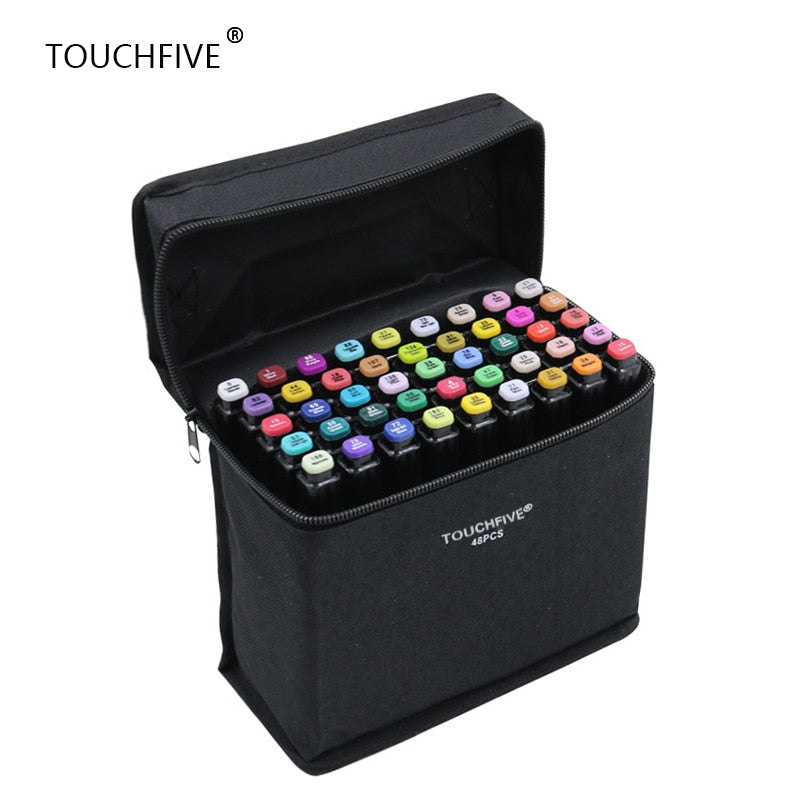 TouchFIVE 30/40/60/80/168  Dual Tip Markers