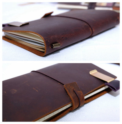 Genuine Leather Traveler's Notebook