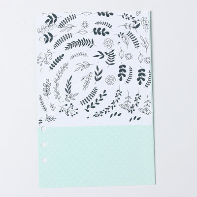 6 Hole Cute Binder Planner Notebook