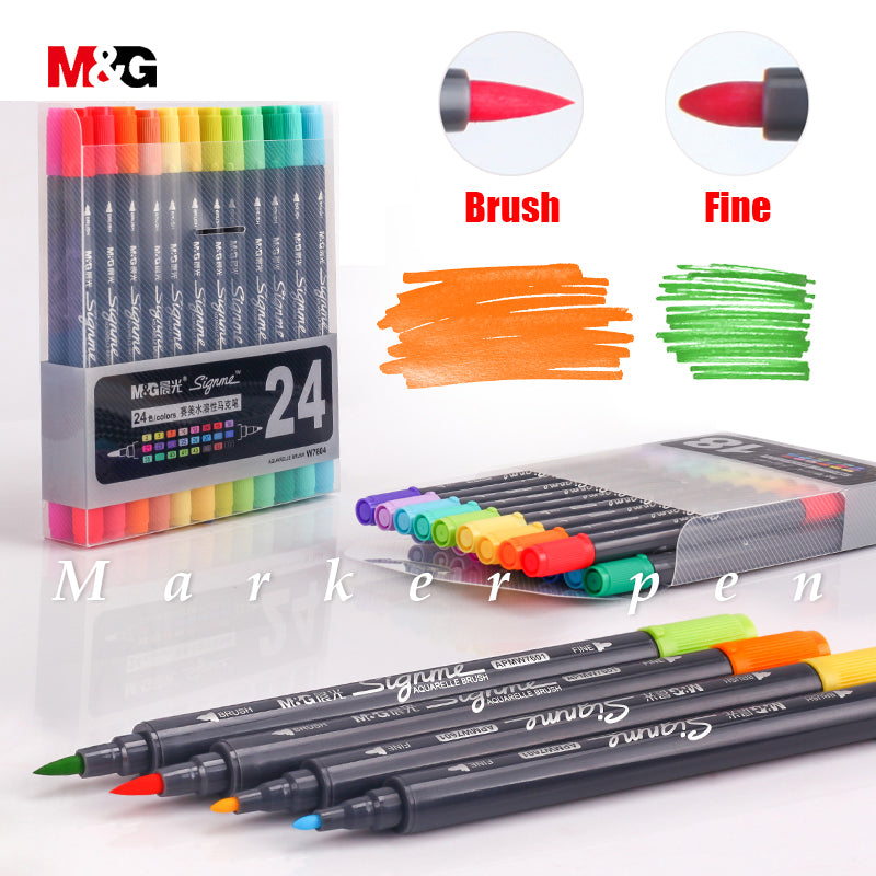 Right Point Watercolor Brush Pen Set