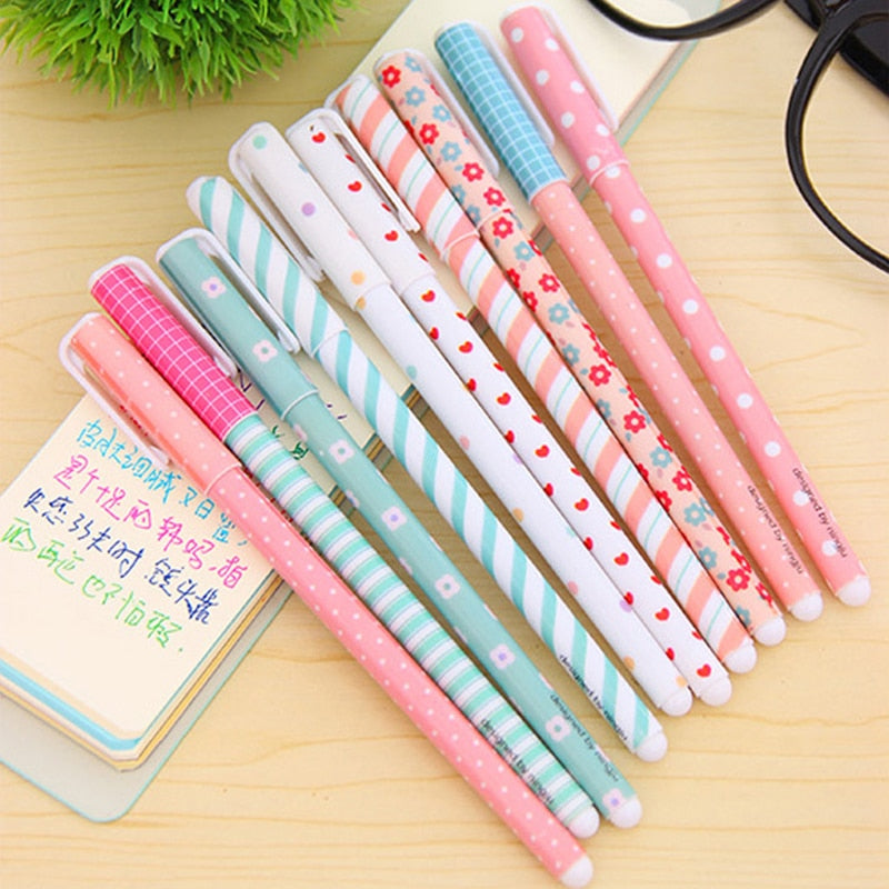 Cute Color Gel Pen - 10 Set