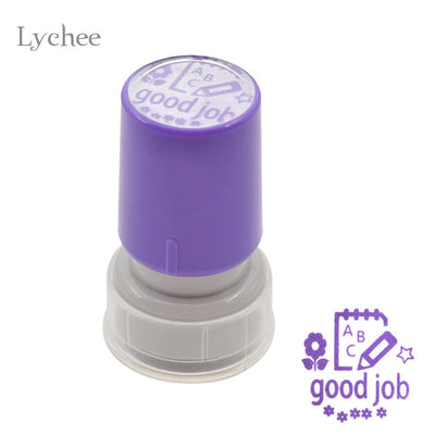 1 Piece Lychee Self-Inking Comment Stamp