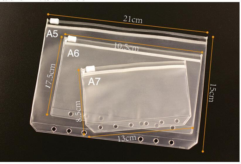 Transparent PVC Bag for Travelers