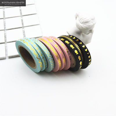 3 Piece Foil Washii Tape - Terra Art Shop