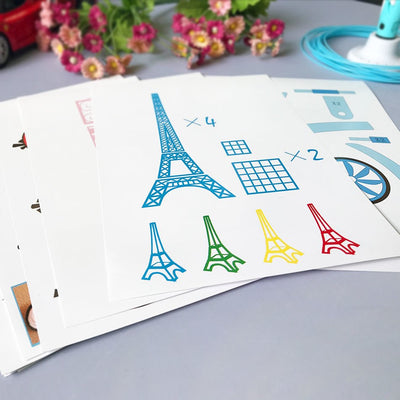 3D Pen Stencils & Templates - Terra Art Shop