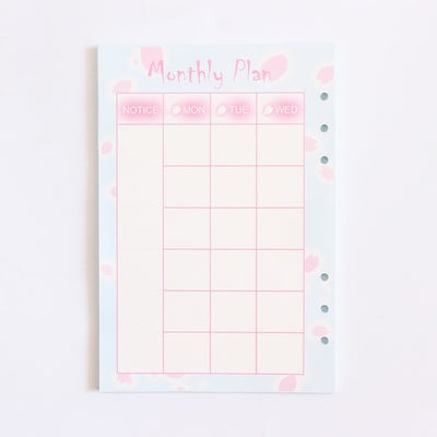 Domikee Cute 6 Holes Inner Filler Paper