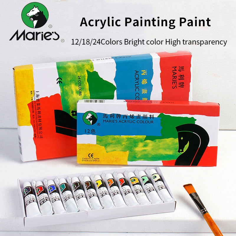 Marie's Professional Acrylic Paints Set 12/18/24