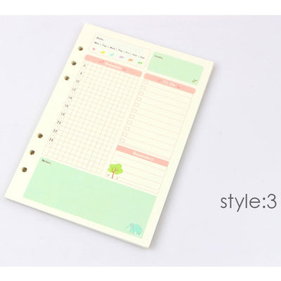 Summer Series Notebook Filler Paper