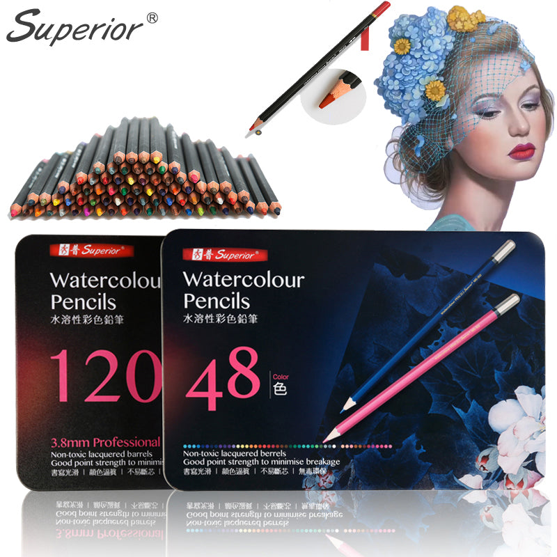 Superior Watercolor Pencil Sets