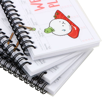 Kawaii Weekly Planner Notebook