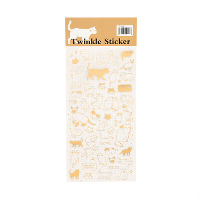 Mengtai Gold Twinkle Sticker