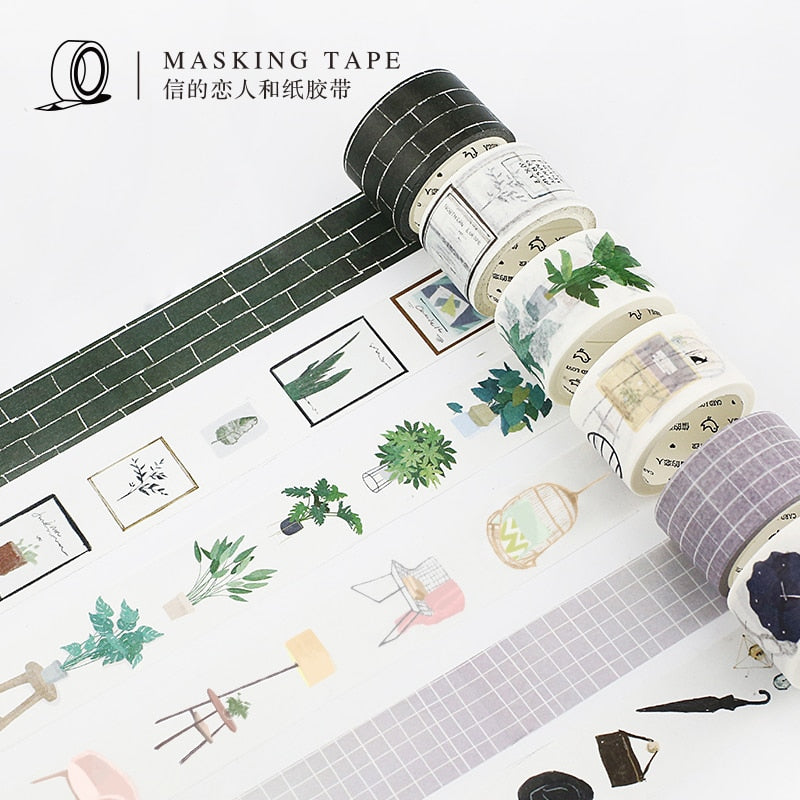 Home, Garden & Fashion Washi Tape