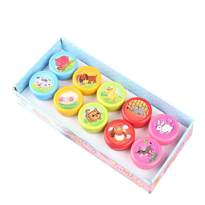 10 Pieces/Set Children Toy Stamps - Terra Art Shop