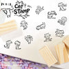12 Pieces Cute Cat Stamps Set - Terra Art Shop