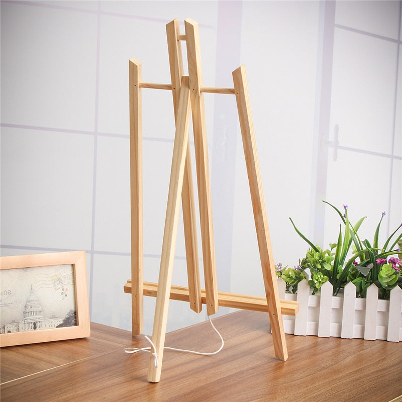 Table Top Display Wooden Easel