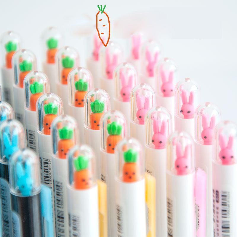 Rabbit & Carrot Mechanical Pencil Set