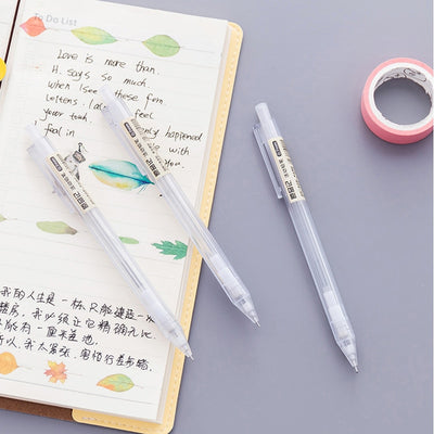 Transparent Plastic Mechanical Pencil