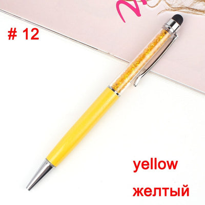 20 Colors Crystal Ballpoint Pen - Terra Art Shop