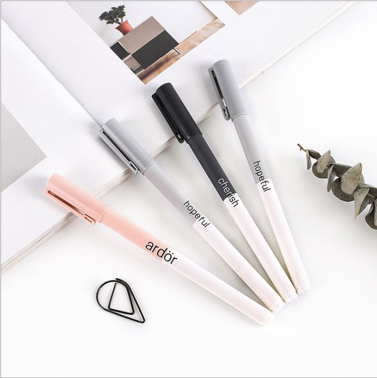 4 Piece Kawaii Gel Pen Set - Terra Art Shop