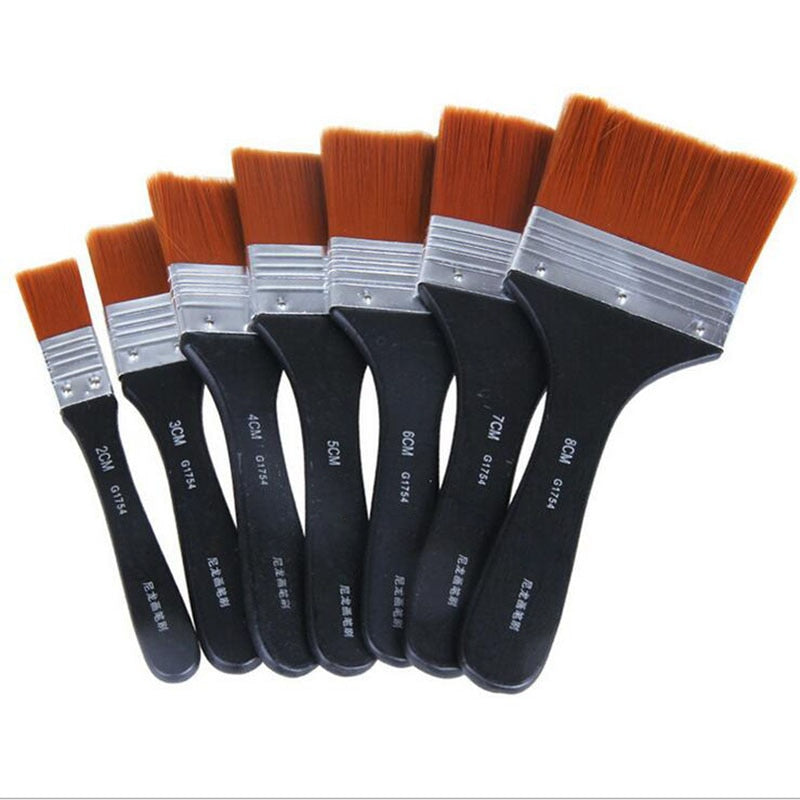 Flat Head Nylon Painting Brush