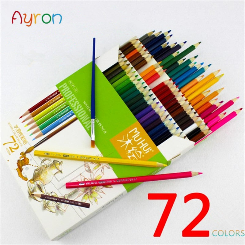 Muhui 72 Color Watercolor Pencil Set