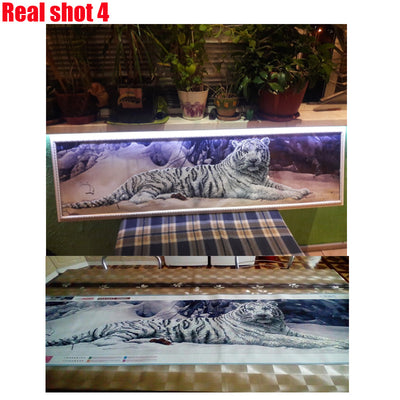 White Tiger - Diamond Painting Kit