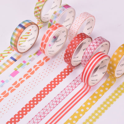 4 Piece Mixes Design Washi Tape