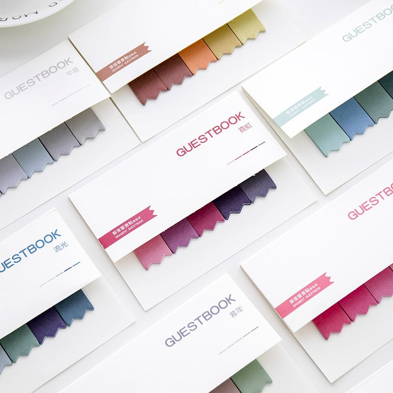 Gradient Color Creative Office Memos