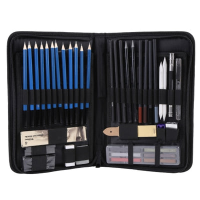Deluxe Drawing & Illustration Sets - 48 Pieces