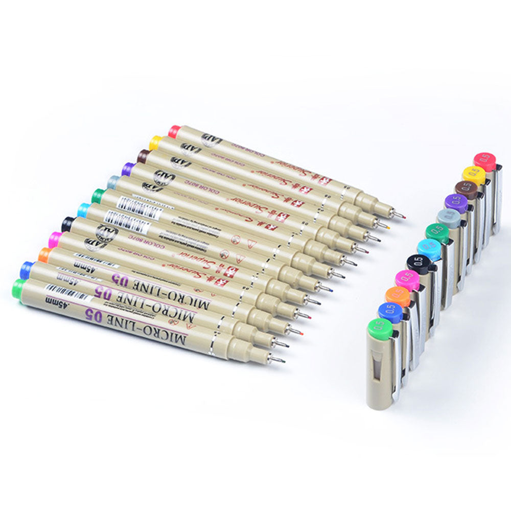 Superior Mirco-Line Colored Pen Set