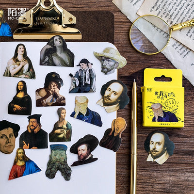 Famous People Sticker Set