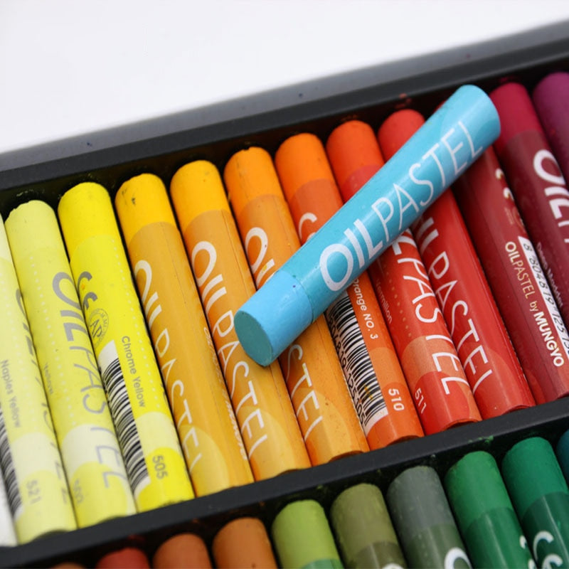 50 Color Soft Oil Pastel Set