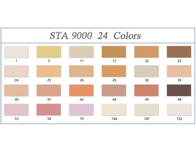 STA Skin Tone Markers - 12 Set