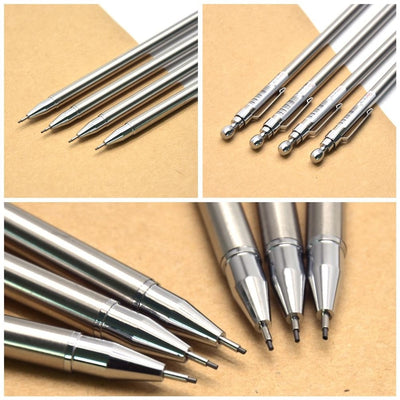 3 Piece 0.7mm Metal Mechanical Pencil Set - Terra Art Shop
