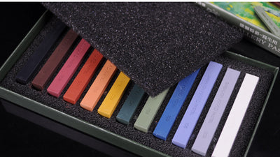 Simbalion 12 Color Hard Pastel Set