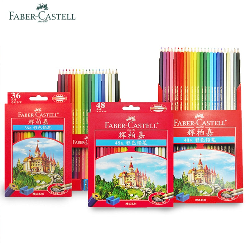 Faber Castell 36/48/72 Classic Colored Pencil Sets