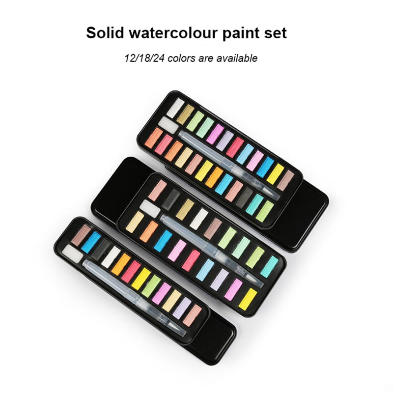 Solid Gouache Paint Set