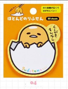 Japanese Sanrio Sticky Notes