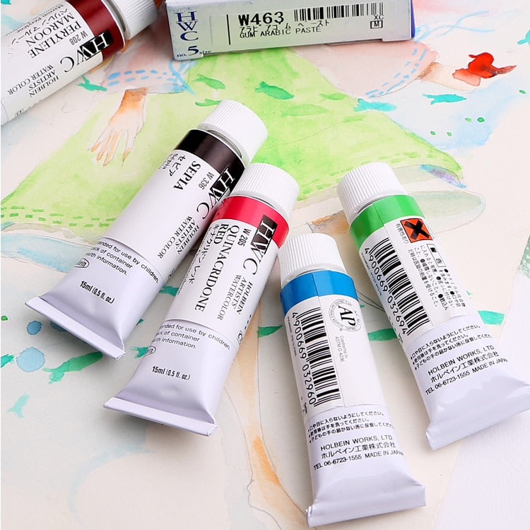 Japan's Holbein Hype Watercolor Pigment Set