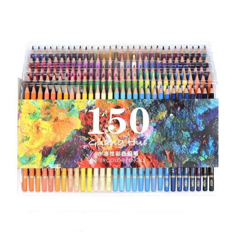 Hevenwie Soft Watercolor 150 Pencil Set