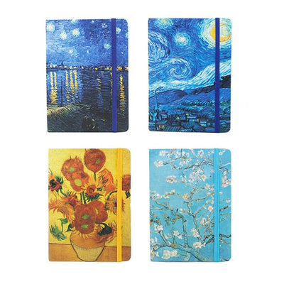 4 Piece A5/A6/A7 Van Gogh Notebook Dividers - Terra Art Shop