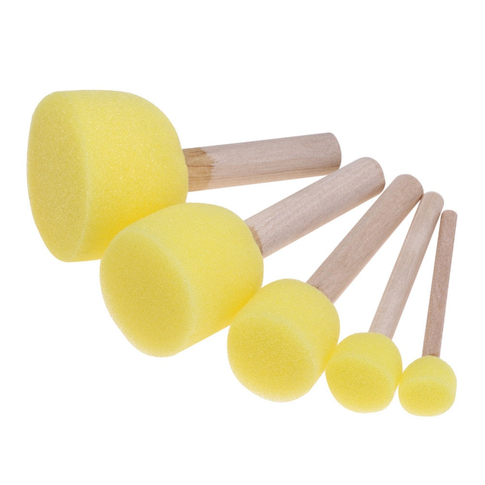 Sponge Paint Brush Sets