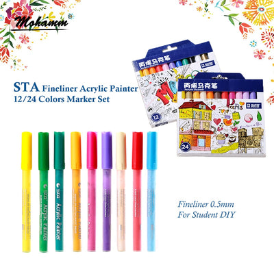 STA Acrylic Fineliner Set