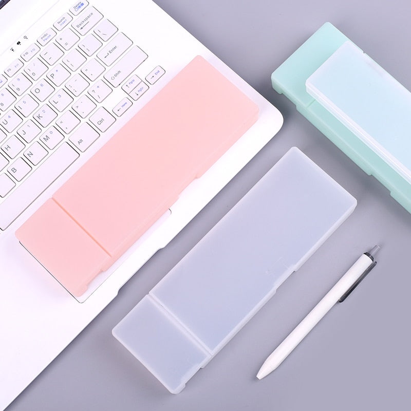 Simple Transparent Pencil Cases